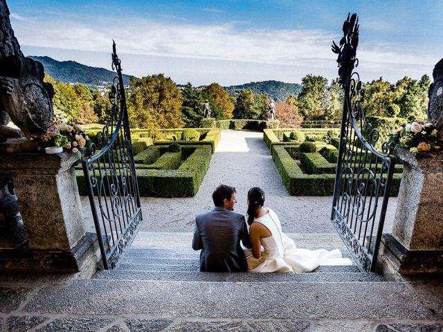 Il matrimonio di Davide e Sara a Inverigo, Como 43