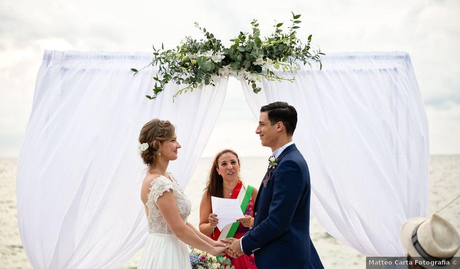 Il matrimonio di Daniele e Kateryna a Arbus, Cagliari