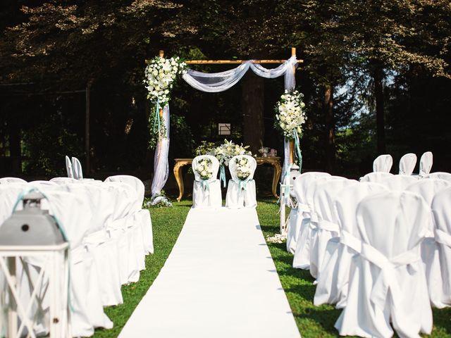 Il matrimonio di Massimiliano e Elena a Viggiù, Varese 5