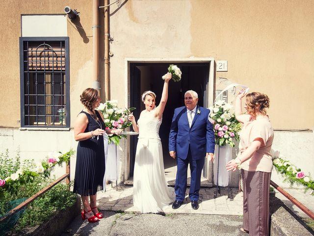 Il matrimonio di Antonio e Simona a Frascati, Roma 14