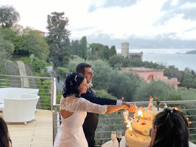 Il matrimonio di Carmen e Rodolfo a Lerici, La Spezia 6
