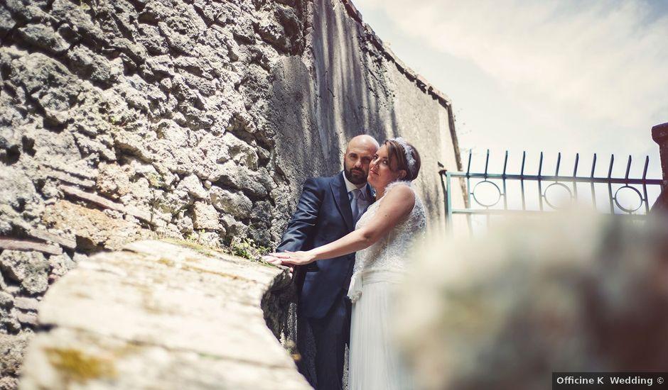 Il matrimonio di Antonio e Simona a Frascati, Roma