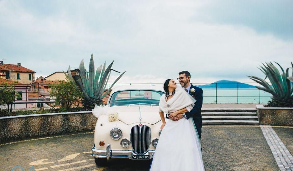 Il matrimonio di Carmen e Rodolfo a Lerici, La Spezia