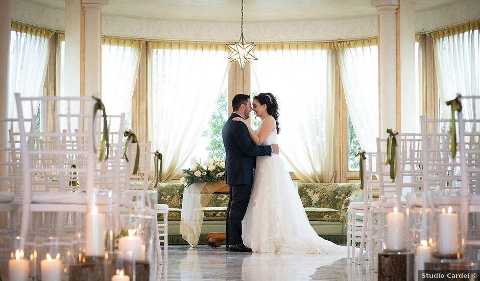 Il matrimonio di Alessandra e Yuri a Bassano Romano, Viterbo