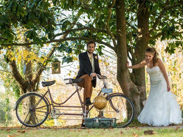 Il matrimonio di Leonardo e Chiara a Canale Monterano, Roma 16
