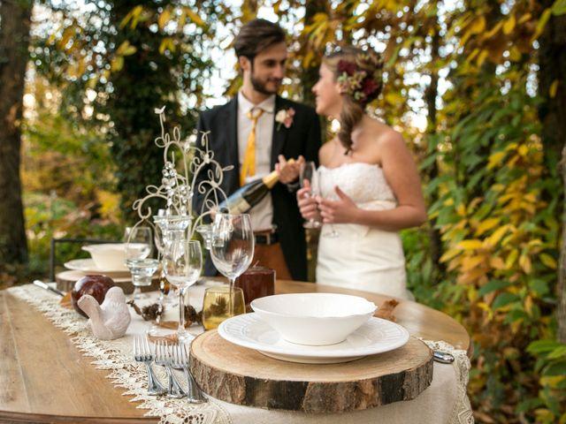 Il matrimonio di Leonardo e Chiara a Canale Monterano, Roma 26