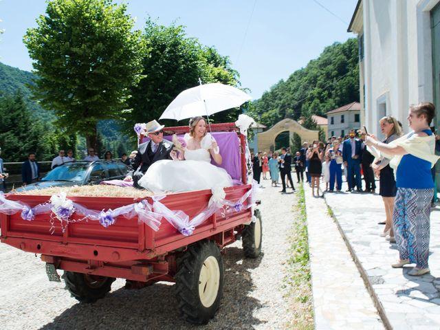 Il matrimonio di Francesca e Enrico a Montoggio, Genova 10