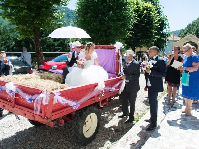 Il matrimonio di Francesca e Enrico a Montoggio, Genova 11