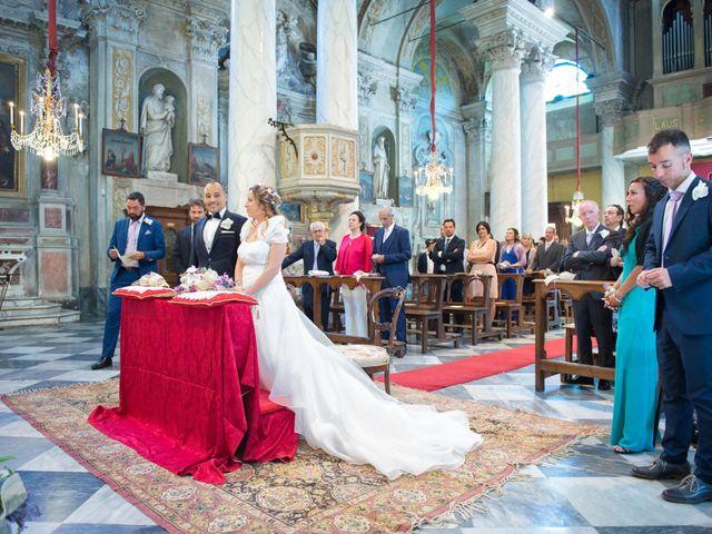 Il matrimonio di Francesca e Enrico a Montoggio, Genova 14