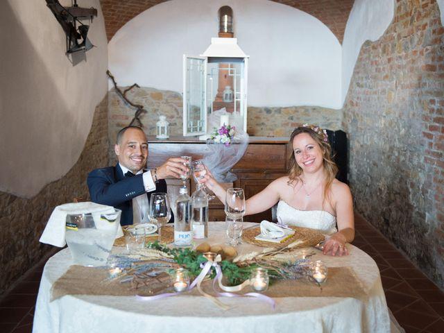 Il matrimonio di Francesca e Enrico a Montoggio, Genova 40