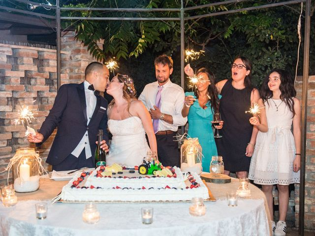 Il matrimonio di Francesca e Enrico a Montoggio, Genova 45