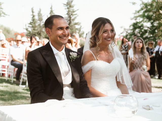 Il matrimonio di Rebecca e Diego a Saludecio, Rimini 10