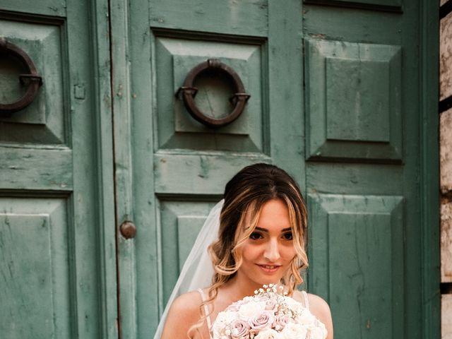 Il matrimonio di Rebecca e Diego a Saludecio, Rimini 13