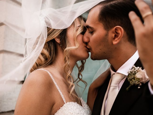 Il matrimonio di Rebecca e Diego a Saludecio, Rimini 14