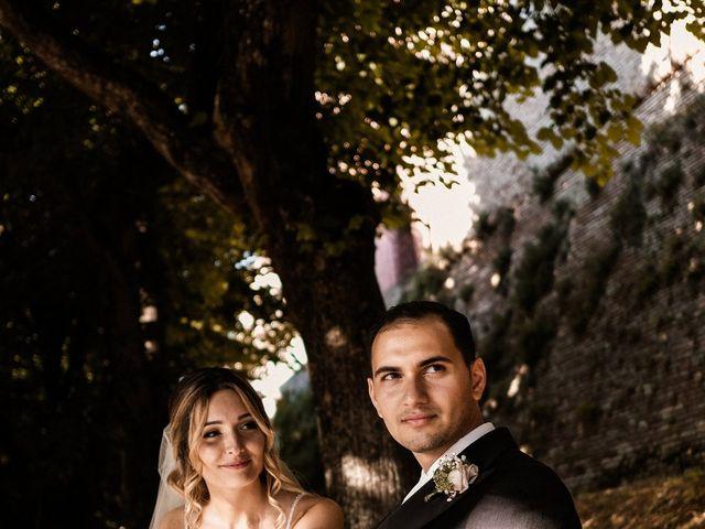 Il matrimonio di Rebecca e Diego a Saludecio, Rimini 21