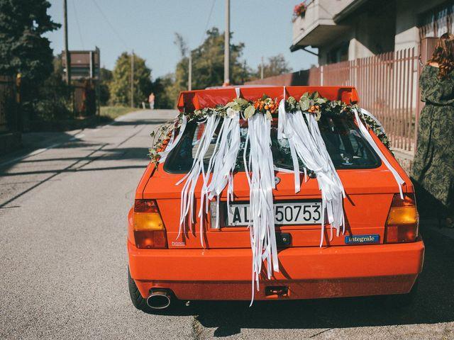 Il matrimonio di Davide e Greta a Bodio Lomnago, Varese 18