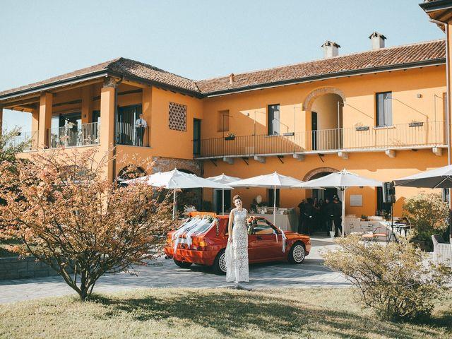 Il matrimonio di Davide e Greta a Bodio Lomnago, Varese 28