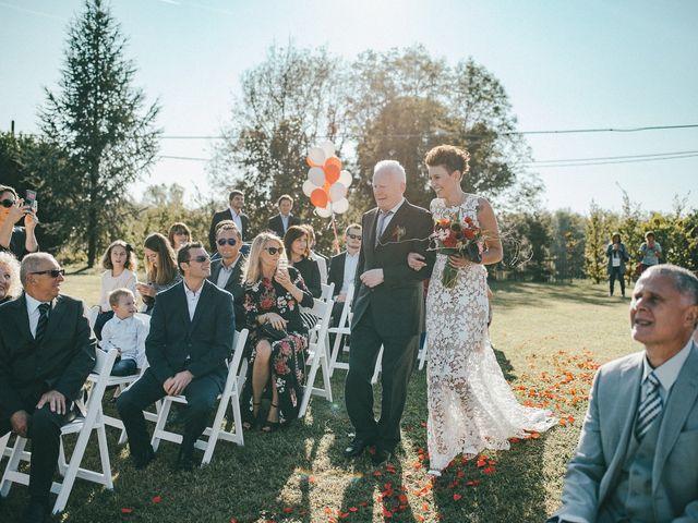 Il matrimonio di Davide e Greta a Bodio Lomnago, Varese 30