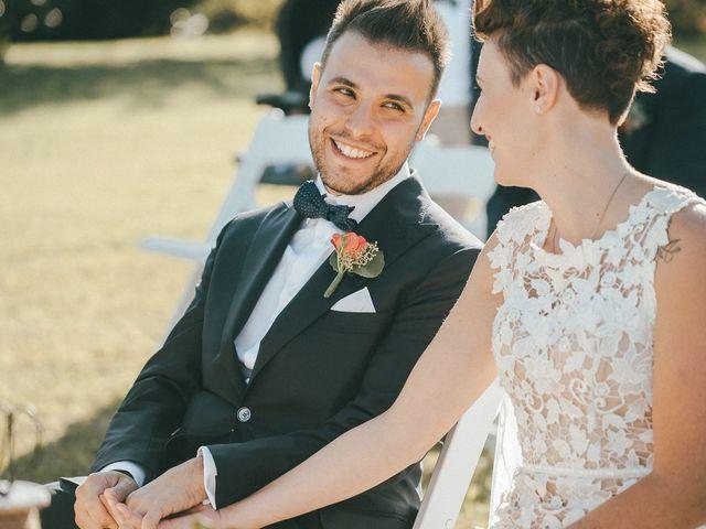 Il matrimonio di Davide e Greta a Bodio Lomnago, Varese 33