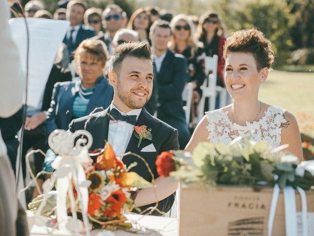 Il matrimonio di Davide e Greta a Bodio Lomnago, Varese 34