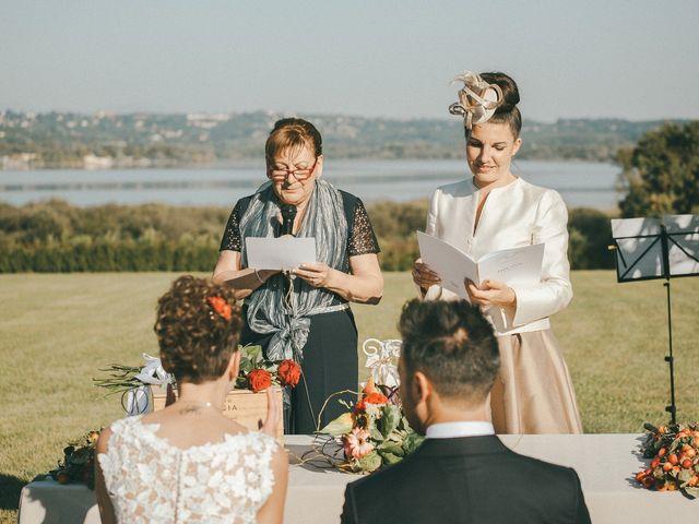 Il matrimonio di Davide e Greta a Bodio Lomnago, Varese 37