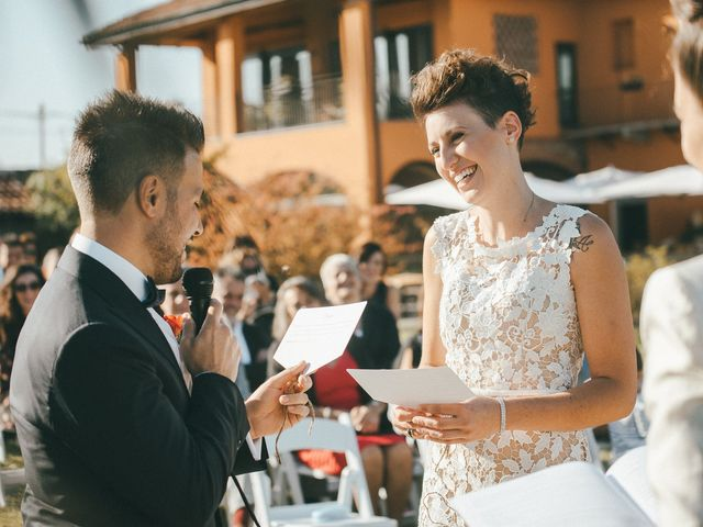 Il matrimonio di Davide e Greta a Bodio Lomnago, Varese 40