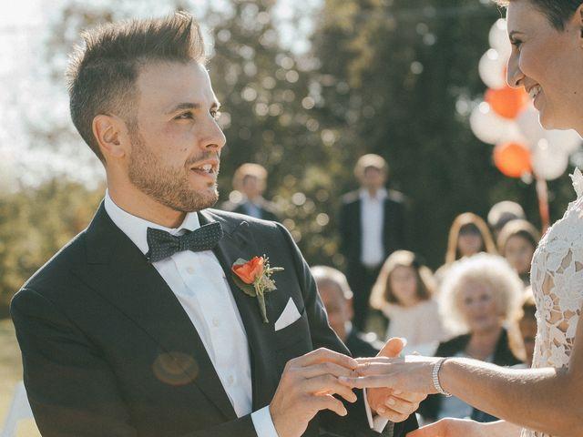 Il matrimonio di Davide e Greta a Bodio Lomnago, Varese 43