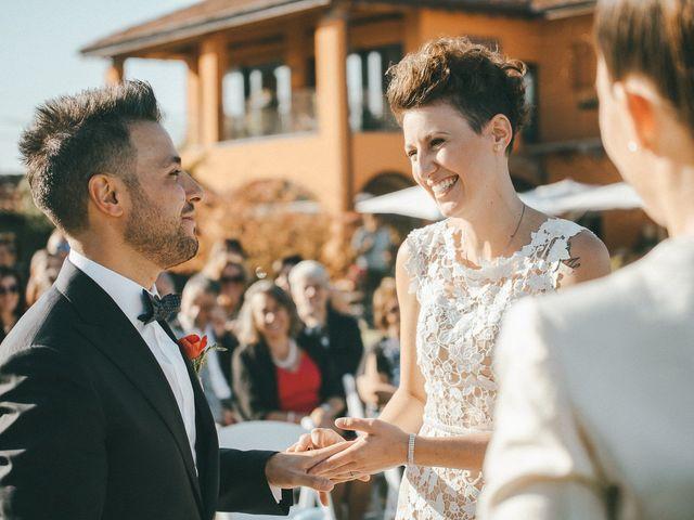 Il matrimonio di Davide e Greta a Bodio Lomnago, Varese 44