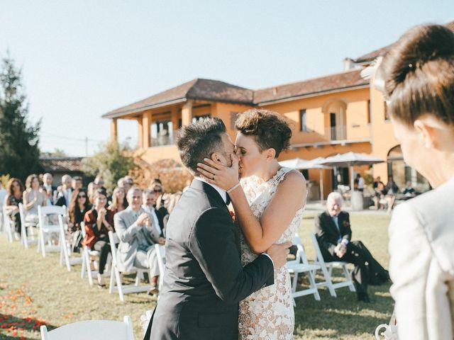 Il matrimonio di Davide e Greta a Bodio Lomnago, Varese 45