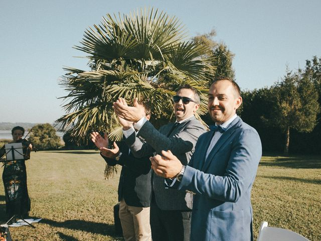 Il matrimonio di Davide e Greta a Bodio Lomnago, Varese 50