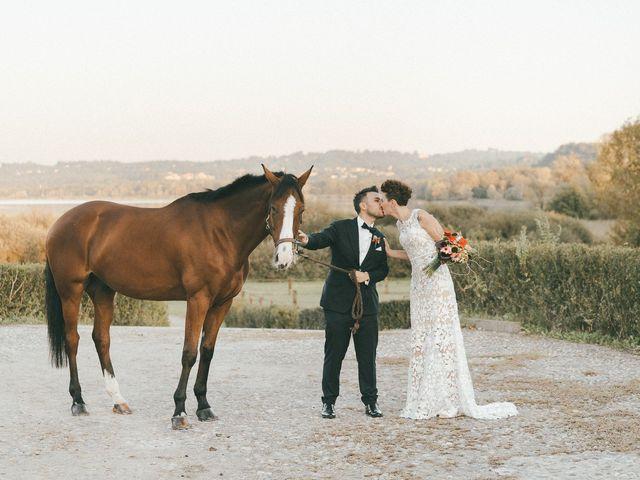 Il matrimonio di Davide e Greta a Bodio Lomnago, Varese 60