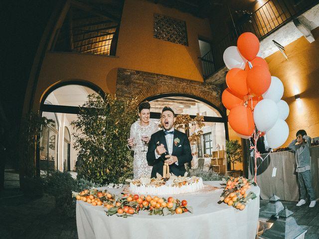 Il matrimonio di Davide e Greta a Bodio Lomnago, Varese 75