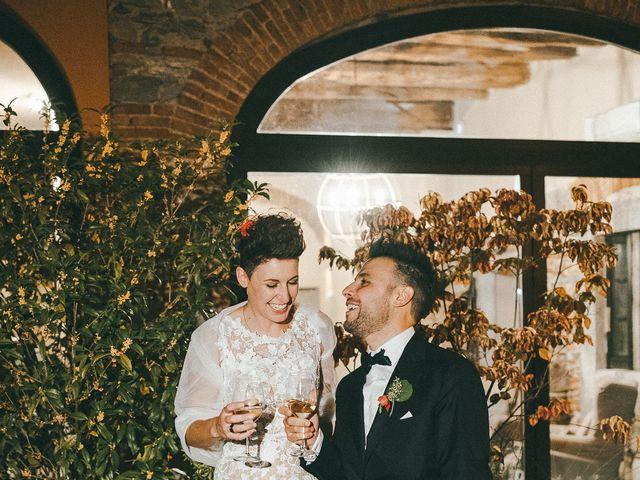 Il matrimonio di Davide e Greta a Bodio Lomnago, Varese 76