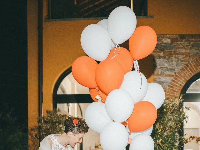 Il matrimonio di Davide e Greta a Bodio Lomnago, Varese 78