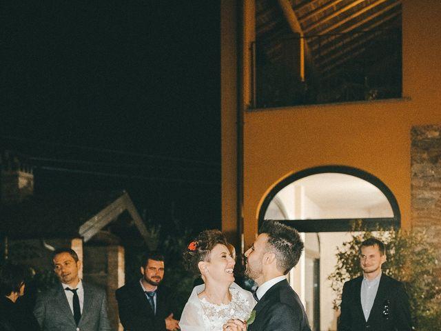 Il matrimonio di Davide e Greta a Bodio Lomnago, Varese 82