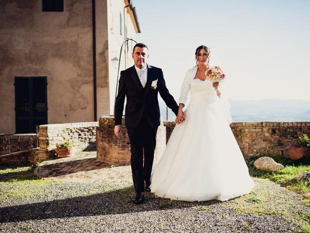 Il matrimonio di Riccardo e Sabrina a Castagneto Carducci, Livorno 7