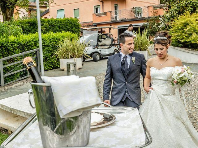 Il matrimonio di Cesare e Valeria a Valbrembo, Bergamo 115