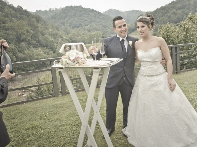 Il matrimonio di Cesare e Valeria a Valbrembo, Bergamo 116
