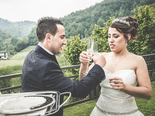 Il matrimonio di Cesare e Valeria a Valbrembo, Bergamo 118