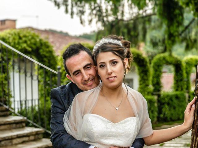 Il matrimonio di Cesare e Valeria a Valbrembo, Bergamo 128