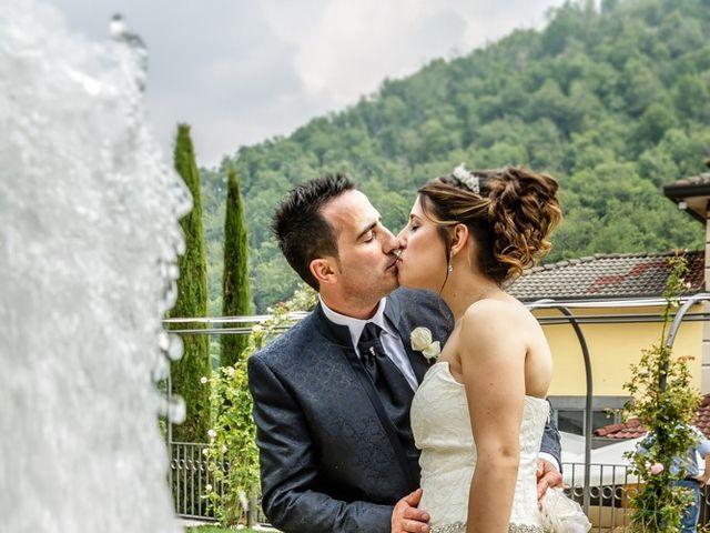 Il matrimonio di Cesare e Valeria a Valbrembo, Bergamo 137
