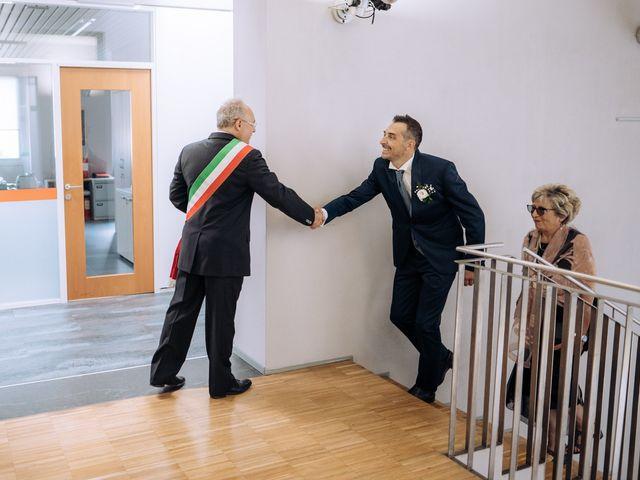Il matrimonio di Andrea e Cristina a Casorezzo, Milano 16