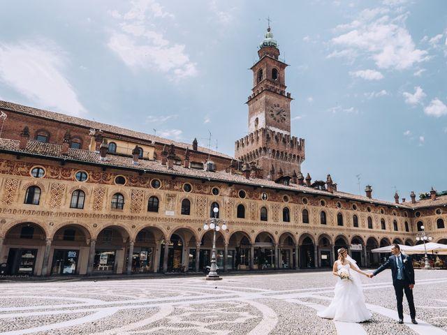 Il matrimonio di Andrea e Cristina a Casorezzo, Milano 32