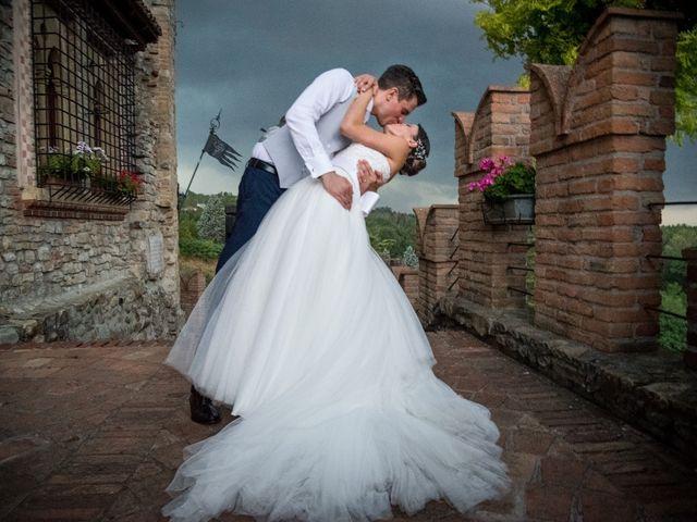 Il matrimonio di Alberto e Maria Grazia a Godiasco, Pavia 1