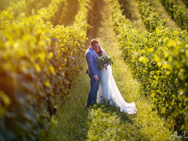 Il matrimonio di John e Ellie a Agliano Terme, Asti 1