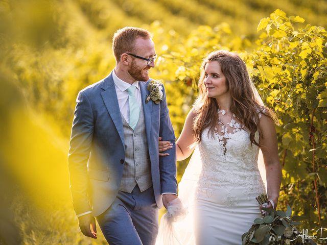 Il matrimonio di John e Ellie a Agliano Terme, Asti 2