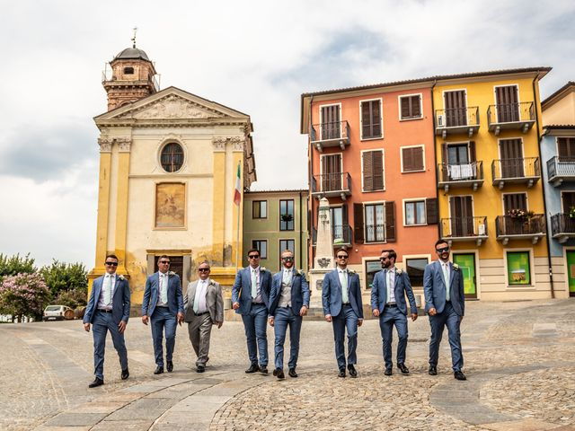 Il matrimonio di John e Ellie a Agliano Terme, Asti 18