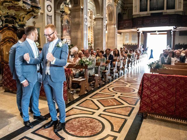 Il matrimonio di John e Ellie a Agliano Terme, Asti 22