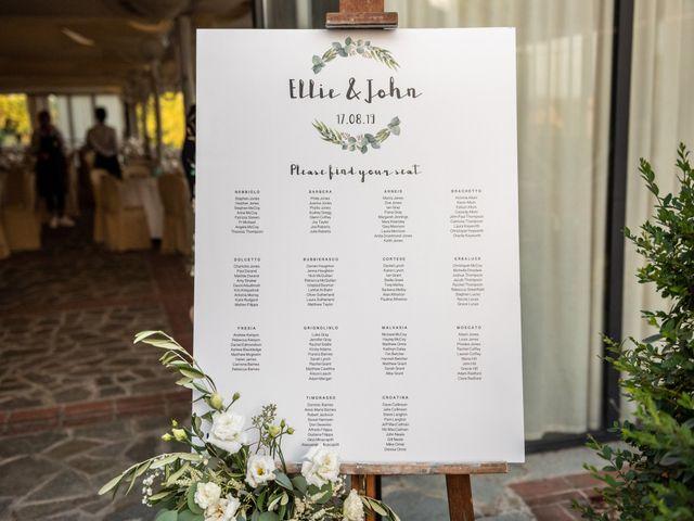 Il matrimonio di John e Ellie a Agliano Terme, Asti 26