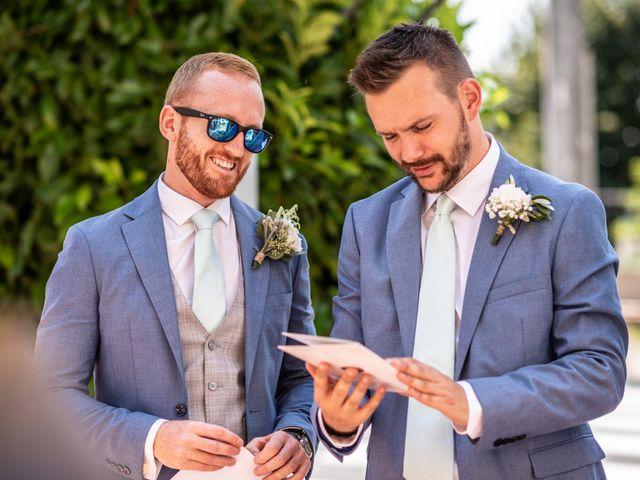 Il matrimonio di John e Ellie a Agliano Terme, Asti 38